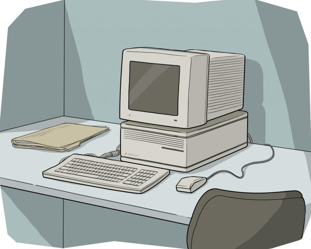 Mac IIcx 1989